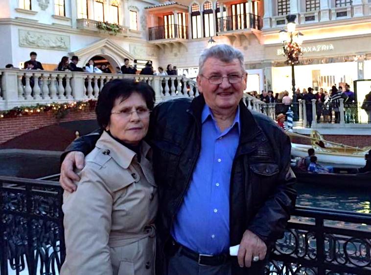 Xhevat Ndreu dhe e shoqja Zenepja