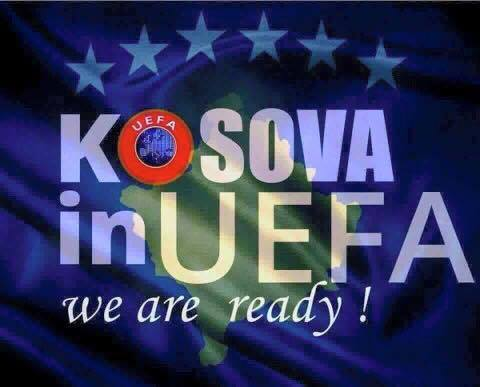 Kosova ne UEFA (Pllakat)