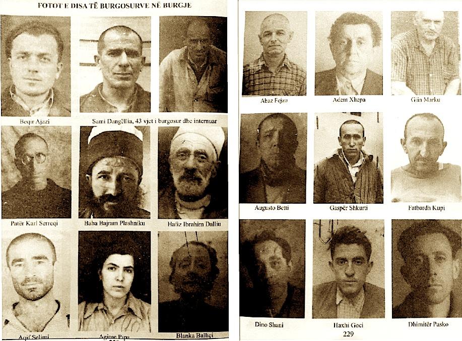 Disa nga te burgosurit politike