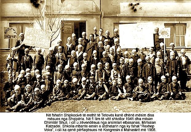 Shkollat shqipe ne Shipkovicë të Tetovës (1941-1943)