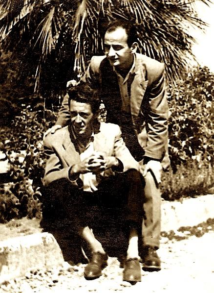 Amik Kasoruho dhe Robert Shvarc ne vitin 1956