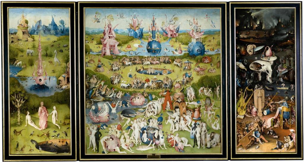 Jeronimus Bosch - El jardín de las Delicias (Kopshti e Mrekullive)Jeronimus Bosch - El jardín de las Delicias (Kopshti e Mrekullive)