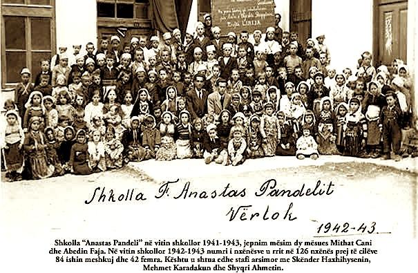 "Shkolla ""Anastas Pandeli"" Vertok Maqedoni (1942-1943)"