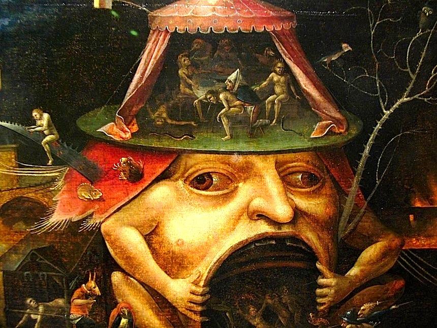Hieronymus Bosch (fragment (Kopshti i Mrekullive)