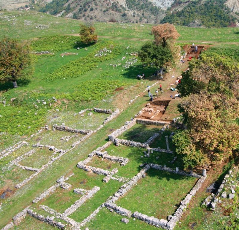 Parku arkeologjik i Antigoneas