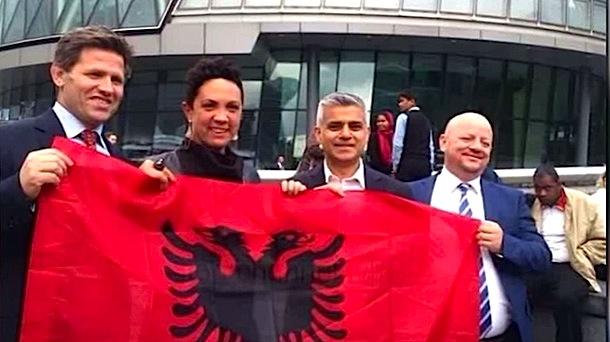 Sadiq Khan - mik edhe i shqiptareve
