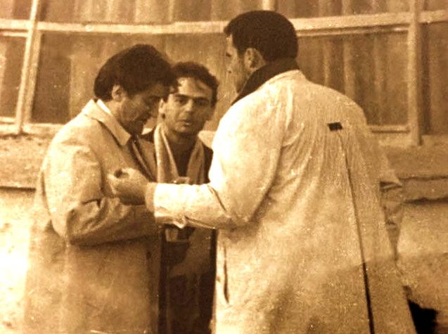 Edi Rama, Ardian Klosi dhe Sali Berisha - 22 Dhjetor 1990