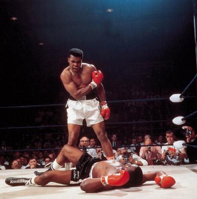 Muhammed Ali rrezon Sonny Liston