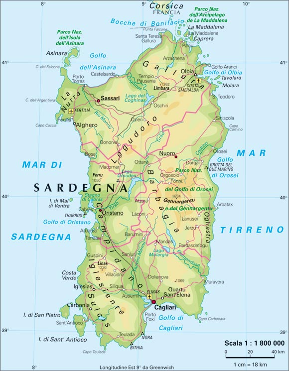 Sardegna - ishulli