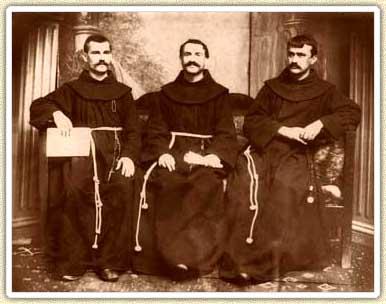 Shtjefen Gjeçovi, Loro Mitroviç, Gjergj Fishta