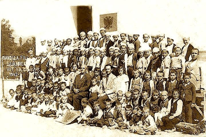 Shkolla Fillore Suharekë viti 1942-1943