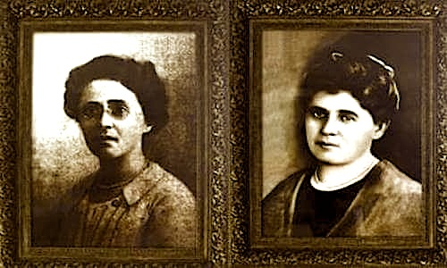 Parashqevi Qiriazi (1887-1971) dhe Sevasti Qiriazi (1871-1949)