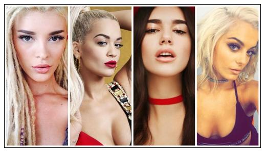Vajzat e Kosoves Rita Ora - Era-Istrefi - Dua Lipa - Bebe Rexha