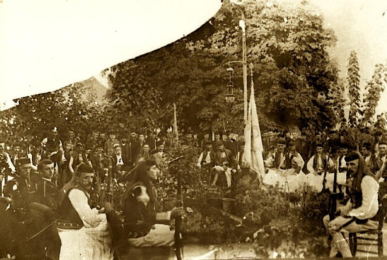 Abdyl Ypi Kryetar i Kongresit në Dibër, më 23 korrik 1909