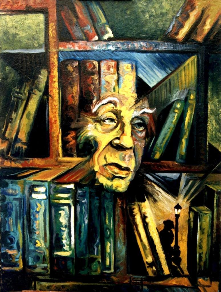 Jorge Luis Borghes - Biblioteka e Parisit
