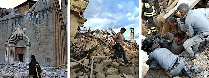 Pjesë nga Tërmeti i 24 gushtit 2016