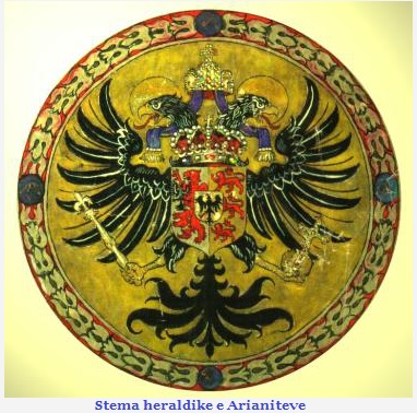 Stema Heraldike e Arianiteve