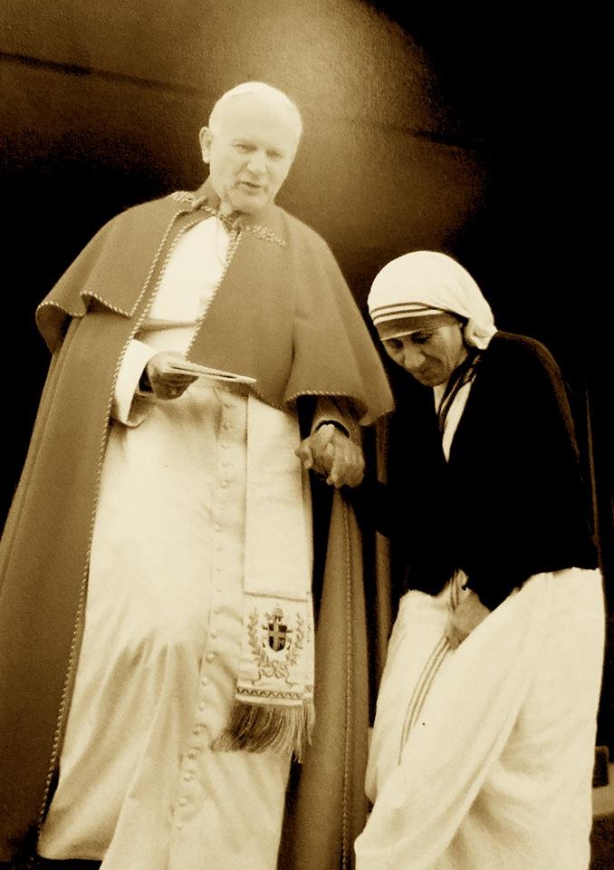 Nanë Tereza & Papa Gjon Pali i II - Dy ikona të shek. të XX