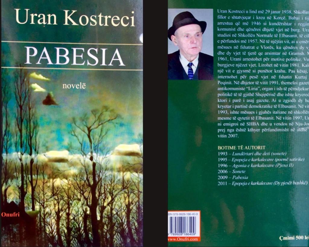 Uran Kostreci - Pabesia (Novelë)
