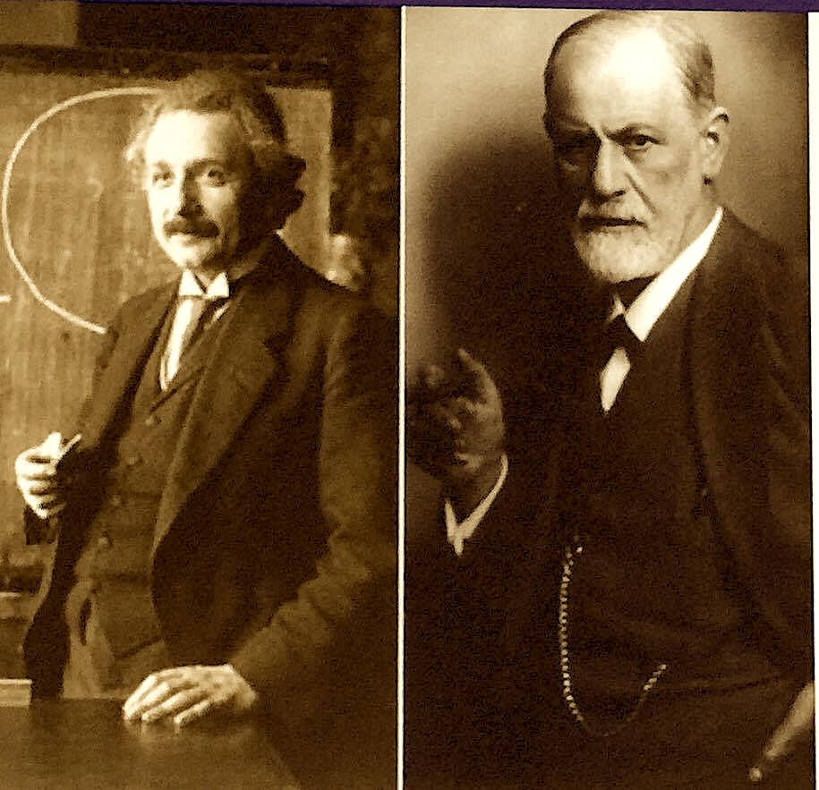 Albert Einshtein dhe Sigmund Freud