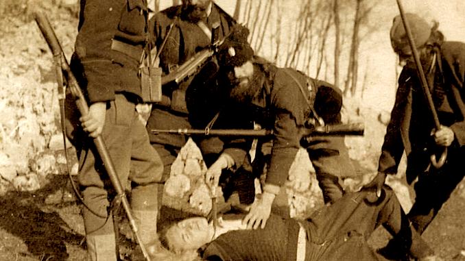 Krimet çetnike në zonën e Bihorit