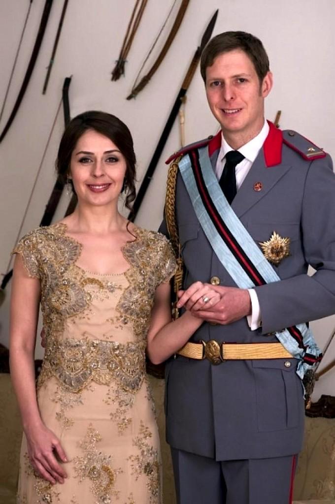 Princ Leka i II dhe Elia Zaharia