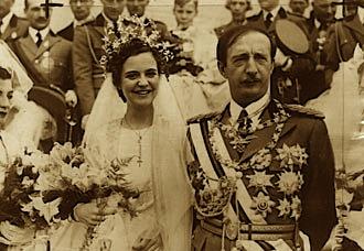 Mbreti Zogu i I dhe Kontesha Geraldina Appogny