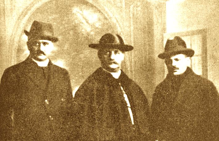 Dhimitër Berati, Gjergj Fishta dhe Luigj Bumçi në Konferencën e Paqes në Paris - 1919