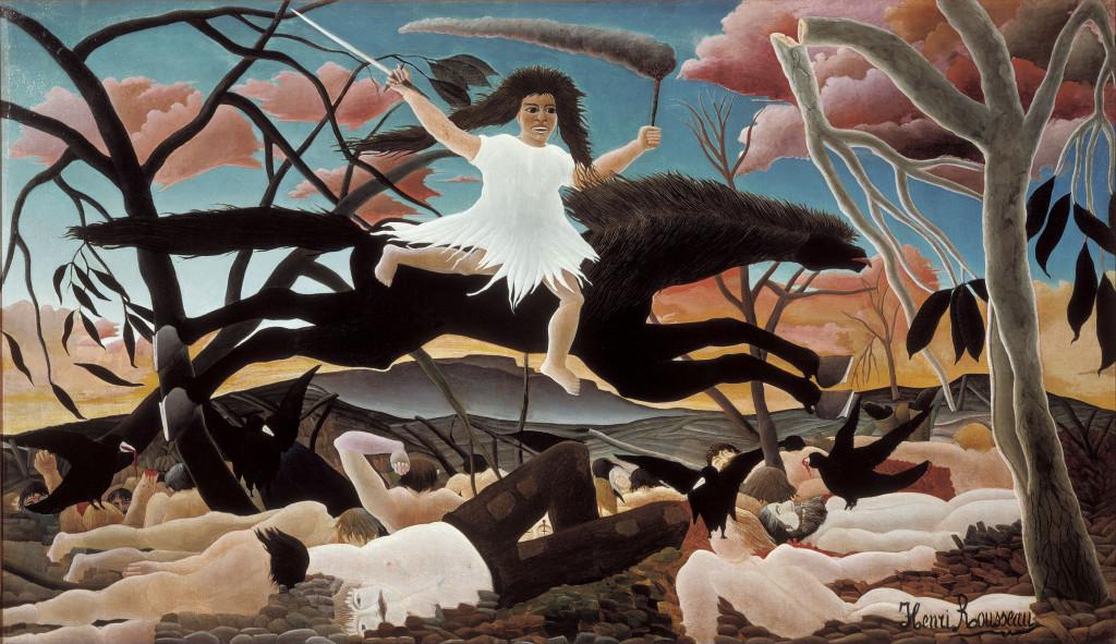 Lufta - Henri Rousseau