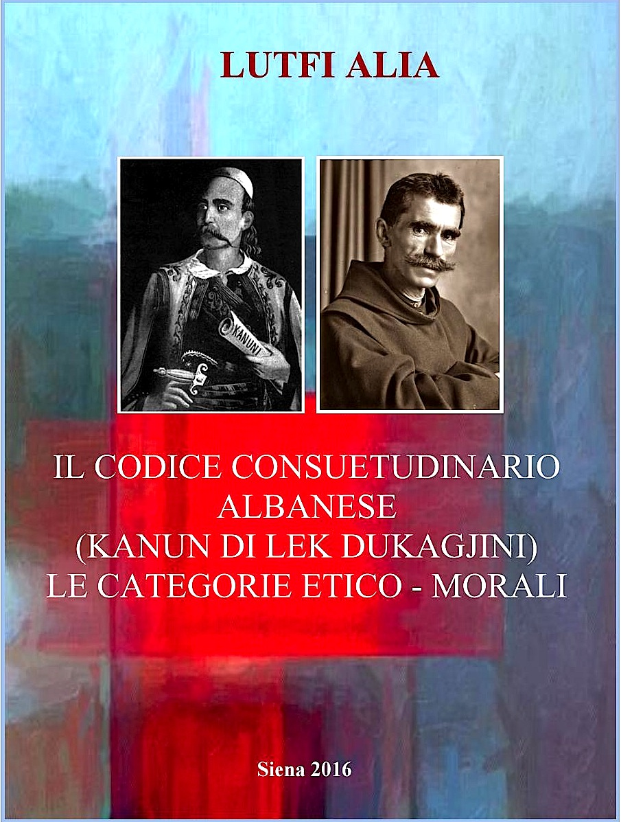 "Prof. Lutfi Alia ""Kanuni i Maleve"" ne italisht"