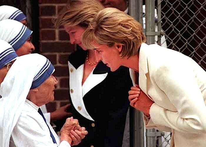 Nënë Tereza dhe Diana Spenser