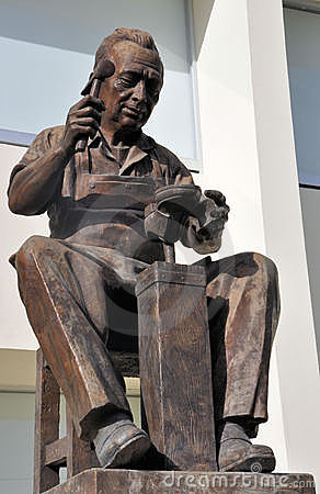 Statuja e Këpuctarit (Leon Guanajuato)