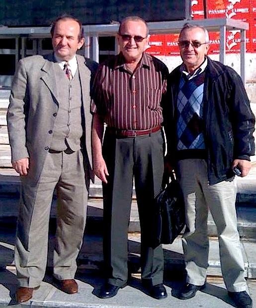 Profesor Mina Gero ne mes, Engjell Zerdelia dhe Thoma Goga