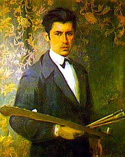 Vangjush Mio - Autoportret