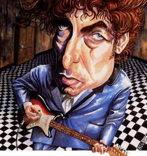 Bob Dylan - si karikaturë