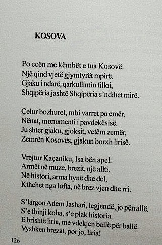 Kosova - poezi e Dalan Luzajt