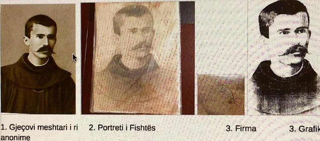 At Shtjefën Gjeçovi dhe piktura e Fishtës