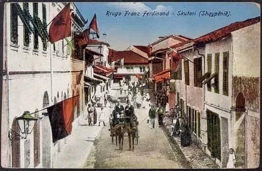 Rruga Franz Ferdinand ne Shkoder