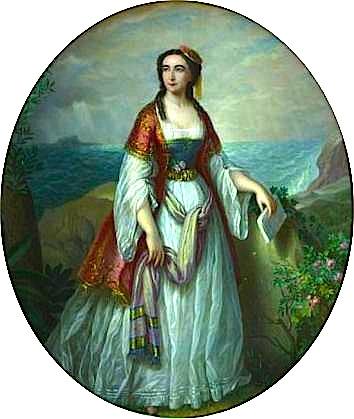 Dora d'Istria (pikture nga Petre Mateescu)