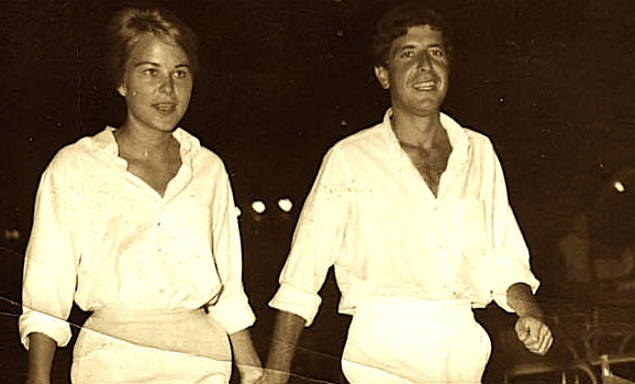 Leonard Cohen & Marianne Ilhen