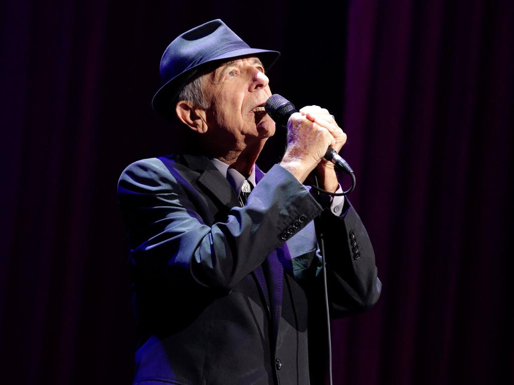 Muzikanti Leonard Cohen