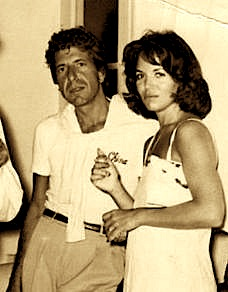 Leonard Cohen & Suzanne Erlod