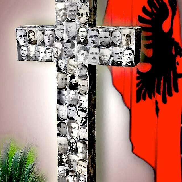 Kryqi i Lumturimit të klerikëve Martirë