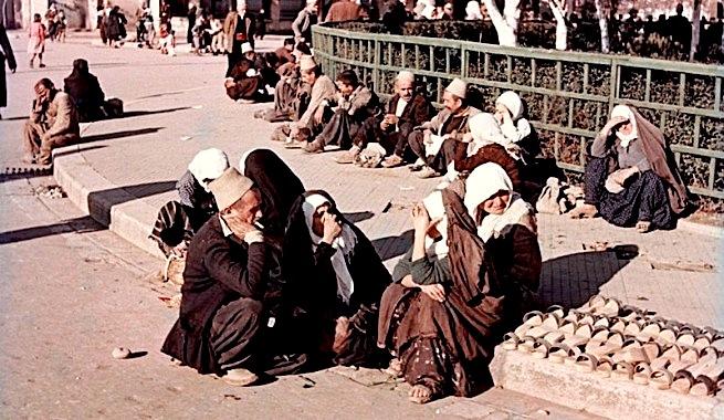 Pazari i Vjetër në Tiranë 1957 - (foto Wilfried Fiedler)