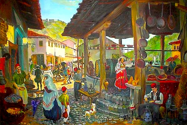Shkodra - pikturë