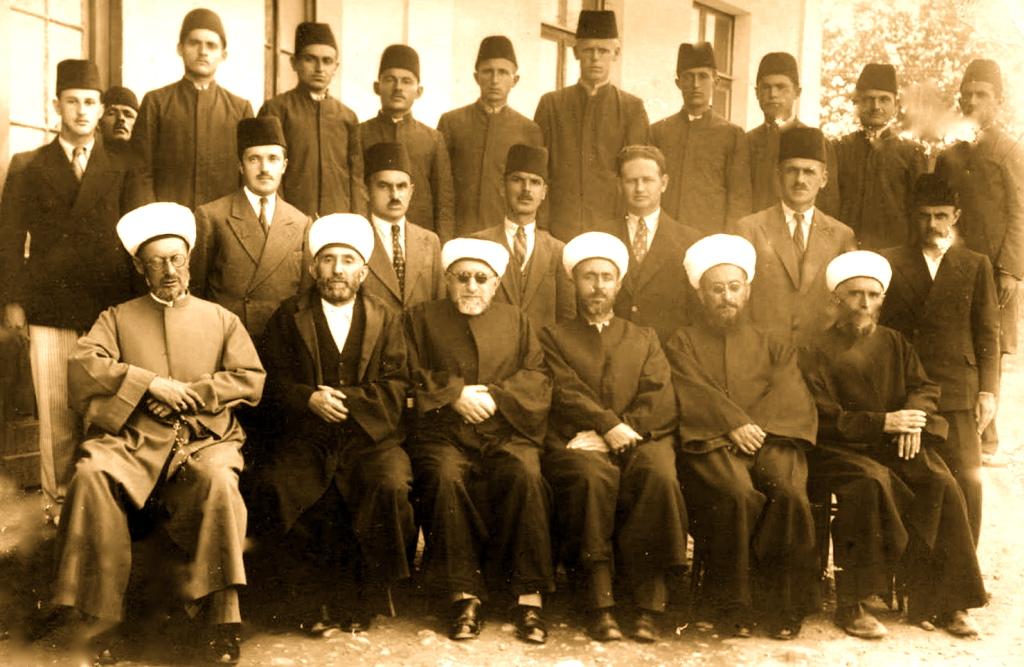 Klerikë shqiptarë të fesë myslimane