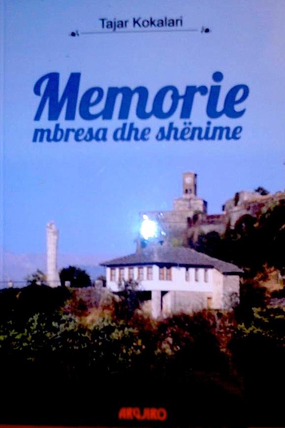 """Tajar Kokalari - Libri """"Memorie, mbresa dhe shënime"""""""