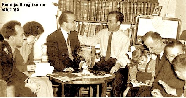 Familja Xhagjika - Pak kohë para rrënimit komunist