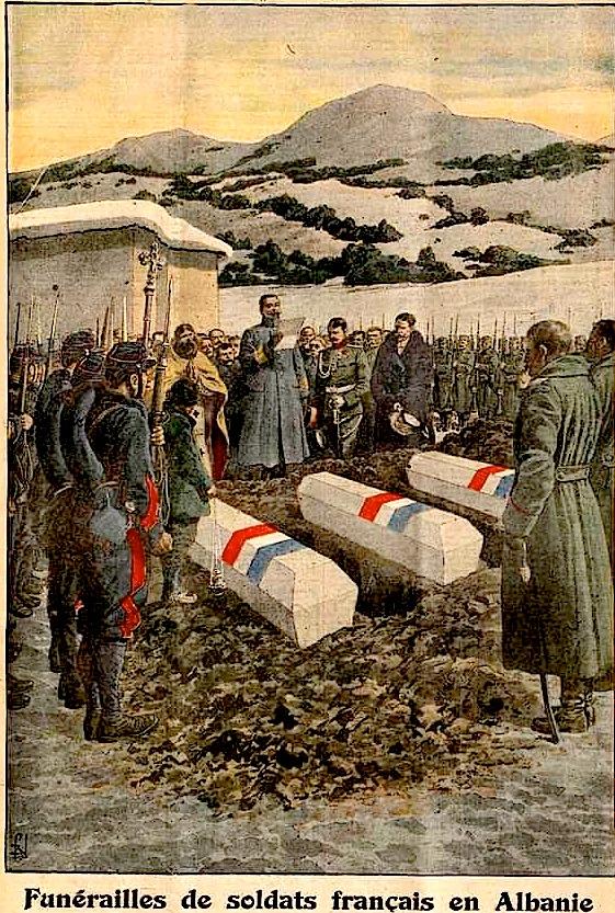 Varrimi i Ushtarëve Francezë në Korçë