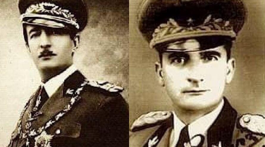 Ahmet Zogu & Prenk Pervizi